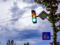 На восьми перекрестках столицы появятся светофоры