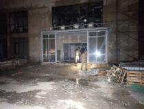 В Оше сгорела текстильная фабрика