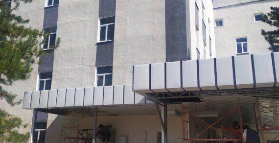 Ремонт больницы в Токмоке выходит на финишную прямую