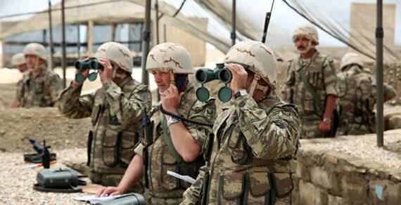 Военное положение введено с сегодняшнего дня на территории Азербайджана
