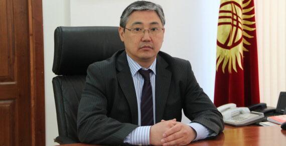 Исполнять обязанности мэра Бишкека будет первый вице-мэр Алмаз Бакетаев