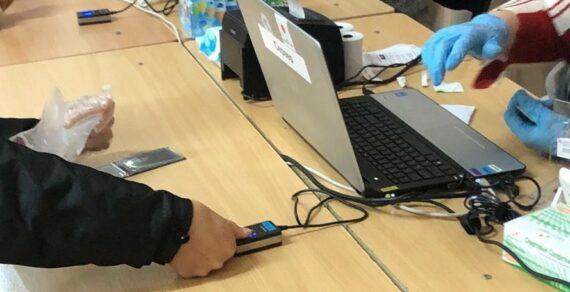 В Кыргызстане возобновили сбор биометрических данных граждан