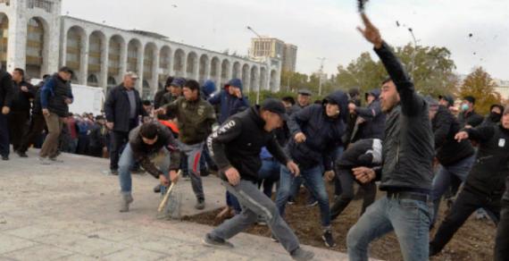 По событиям на площади Ала-Тоо возбуждено уголовное дело