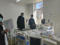 В Иссык-Кульской областной больнице продолжается ремонт