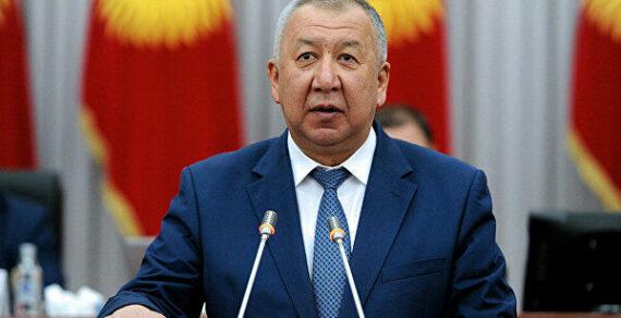 Президент освободил Кубатбека Боронова от исполнения обязанностей премьер-министра