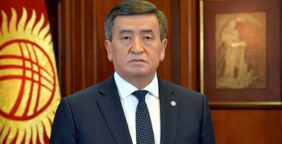 Президент подписал указ о введении в Бишкеке режима ЧП