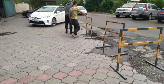 Демонтаж незаконных объектов в столице продолжается