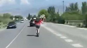 Испанец разогнал свой электросамокат до ста километров в час