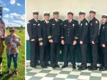 Самый высокий пожарный попал в Книгу рекордов Гиннеса