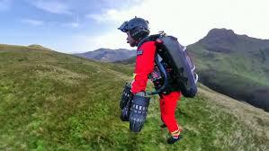 Британские парамедики испытали «летающий» костюм