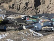 Некоторые участки временной дороги на разрезе «Кара-Кече» отремонтированы