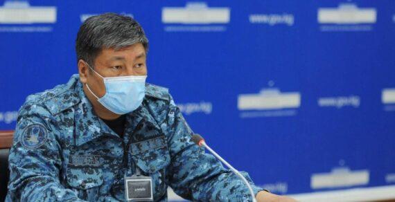 Комендант Бишкека издал первый приказ