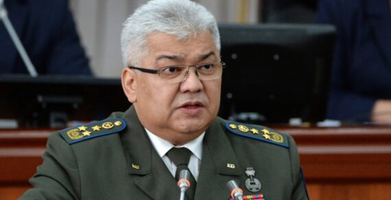 Орозбек Опумбаев освобожден от должности председателя ГКНБ