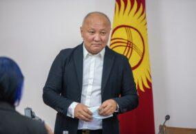 Нариман Тюлеев отказался отпоста мэра Бишкека