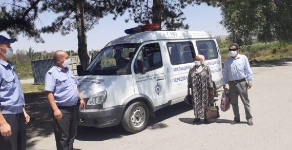 В Ошской области работают передвижные приемные пункты милиции