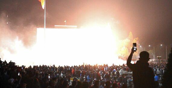 686 человек пострадали во время беспорядков в Бишкеке
