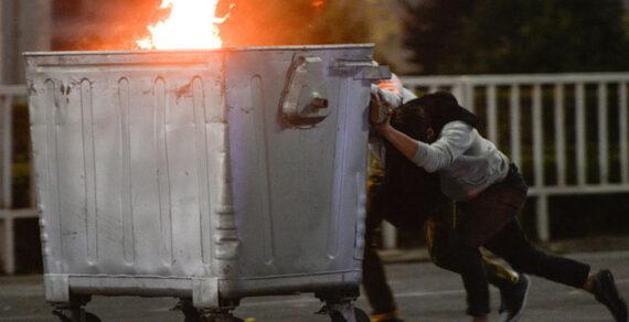 Неспокойной выдалась минувшая ночь в Бишкеке