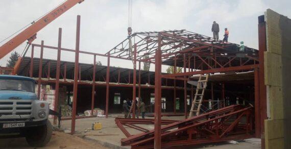 Строительство инфекционной больницы в Нарыне продолжается