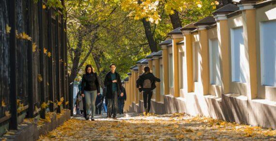 Выходные в Бишкеке будут аномально теплыми