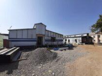 В Оше продолжается строительство инфекционной больницы
