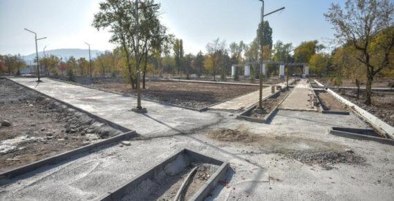 В столице продолжается строительство парка «Балалык»