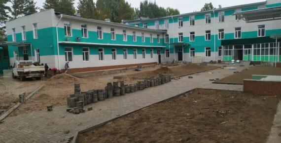 Ремонт Таласского районного ЦСМ завершается