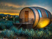 В Мексике можно провести ночь в бочке из-под текилы