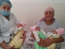 В Джалал-Абадской области родилась тройня