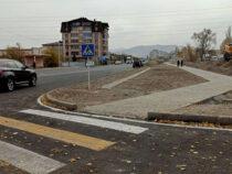 В Бишкеке завершен ремонт улицы Саякбая Каралаева
