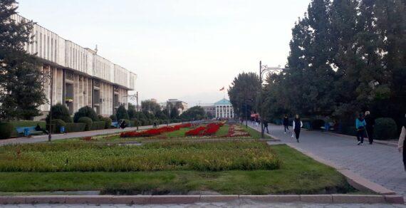 В Бишкеке ночь прошла спокойно и без происшествий