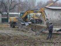 В Баткенской области строится больница