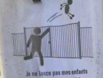 Администрация школы попросила родителей не бросать детей через забор