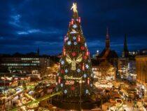 В немецком Дортмунде демонтируют самую большую елку в мире