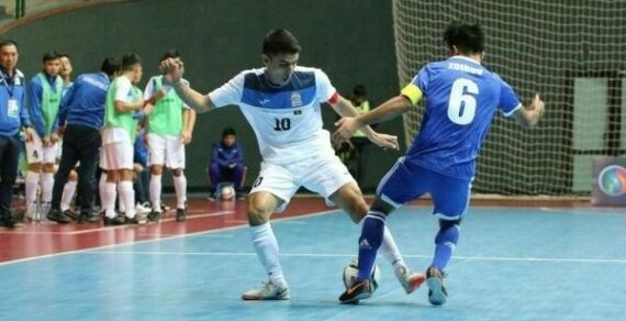 Cборная КР по футзалу проведет два матча против сборной Узбекистана