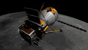 Китайский космический аппарат готовится к посадке на Луну