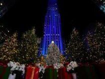 В Нью-Йорке установили 22-метровую рождественскую ель