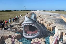 Художник создал самый большой рисунок в мире
