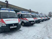 Центр экстренной медицины получил шесть машин скорой помощи