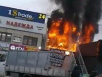 Жертв и пострадавших в результате пожара в офисе одного из банков в Бишкеке нет