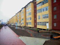 В Оше отремонтировали улицу Рыспая Абдыкадырова
