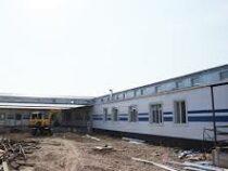 Строительство инфекционной больницы в Оше завершено на 80%