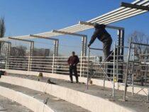 В Бишкеке продолжается строительство парка «Ынтымак-2»