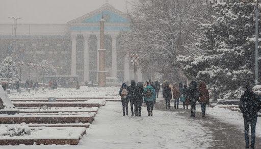 Завтра в Бишкеке ожидается пик холодов в этом месяце