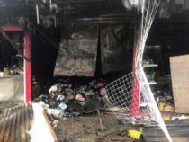 Пожарные столкнулись с проблемой заезда на Орто-Сайский рынок