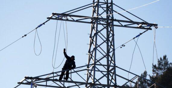 Вжилмассиве «Арча-Бешик» игороде Канте нет электричества из-за аварии