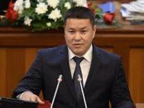 Талант Мамытов избран спикером Жогорку Кенеша
