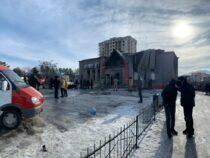 В Бишкеке при пожаре в оружейном магазине погиб человек