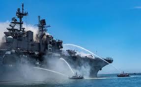 Ремонт десантного корабля «Боном Ричард» обойдется в три миллиарда долларов
