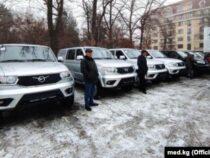 Кыргызстану подарили автомобили для перевозки анализов на коронавирус
