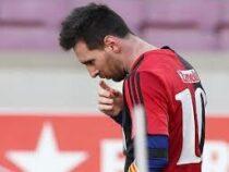 Капитана ФК «Барселона» Лионеля Месси оштрафовали на 600 евро